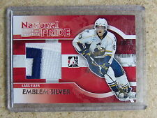 10-11 ITG H&P Heroes Prospects LARS ELLER National Pride Emblem Expo Stamp 1/1