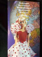 Barbie Doll Friendship Freundschafts Amicizia Vriendschap NRFB 1991 #3677 Mattel