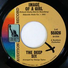 DEEP SIX 45 Image of a.../C'mon Baby 20th CENTURY FOX pop/rock VG++ promo d1860