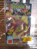 Spawn Action Figure Violator With Special Edition Comic Book (NEW)