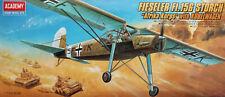 "Academy 1:72 Fiseler Fi-156 ""Storch"" mit Kübelwagen. Kit Nr. 2212."