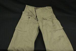 WWII Vintage US USMC Marine Corps P44 Herringbone Twill HBT 34 Trouser Pants