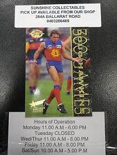 1995 SELECT SENSATION CARD NO. 63 DOUG HAWKINS LIONS
