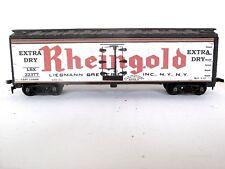 HO Custom Lettered RHEINGOLD BEER  Freight car Reefer Lot E