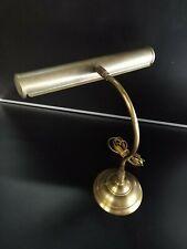 Lampe bureau vintage laiton/cuivre lampe banquier antique
