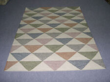 5x7 eco friendly Rugs Contemporary Afghan Bohemian Handwoven Kilim Pastel Color