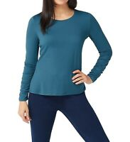 G.I.L.I. got it love it Women's Top Green Teal Size XS Jersey Knit $46 065