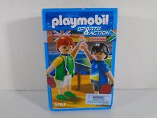 PLAYMOBIL SPORTS & ACTION--TABLE TENNIS FIGURES (NEW) 5197