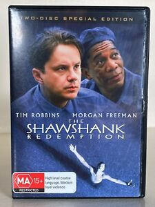 The Shawshank Redemption - 2-Disc Special Edition - DVD - Free Postage - Used