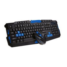 2.4G Gaming Multimedia Cordless Keyboard Wireless Optical Mouse Combo