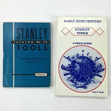 Vintage 1952 STANLEY TOOLS Catalog No 34 (Vonnegut) and 1909 1926 Reprint Guide