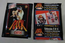 GUNS N' ROSES vintage UNOPENED trading cards pack ARGENTINA ROCK & ROLL Axel