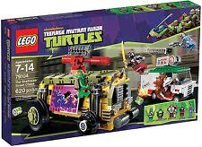 Lego TMNT 79104 SHELLRAISER STREET CHASE Ninja Minifigs NISB Xmas Present Gift