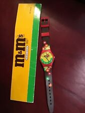 M and m vintage watch 1994