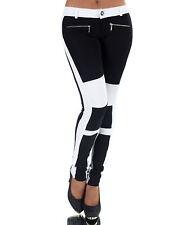 Damen Hose Treggings Leggings Stoffhose Freitzeithose Röhrenhose Leggins  P065