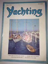 Yachting Magazine 400 Miles In A Day Sailer June 1950 042217nonrh2