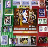 Album NBA basket 2010 2011 panini SOLO serie completa FIGURINE