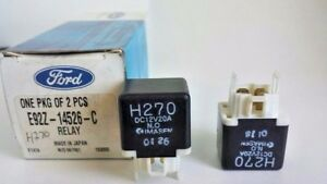 (Package of 2) Ford E92Z-14526-C E92Z14526C CIRCUIT BREAKER ASY, MIX1MIX24