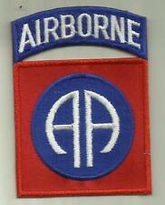82nd Airborne Division U.S.Army Patch Parachute Assault Infantry Soldier Usa