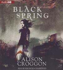 Black Spring by Alison Croggon (2013, CD)