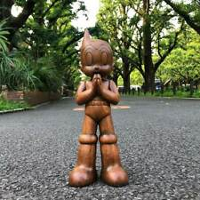 """""""Pre-Order"""" ToyQube x Astro Boy Greenting 12"""" Wooden Version, limit 100 Sold Out"""