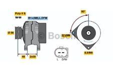 BOSCH Alternador 110A Para SEAT ALTEA 0 986 045 330