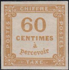 FRANCE  1871  Mi. Yv. T.8, Scott J9, Michel P7  MH  LUXUS! Exp. mark 'Kosack'