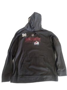 Mikko Rantanen Team Issued Colorado Avalanche Player Fanatics Hoodie 19 -20