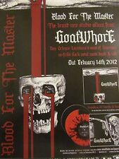 Goatwhore, Blood for the Master, Full Page Promotional Ad