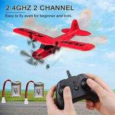 RC Flugzeug ferngesteuert 2,4Ghz 2 Kanal 6-Achsen-Gyro für Einsteiger Anfänger