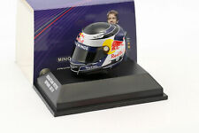 S. Vettel Red Bull GP Malaysia Formel 1 Weltmeister 2010 Helm 1:8 Minichamps