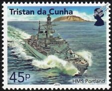 HMS PORTLAND (F79) Royal Navy Type 23 Duke Class Frigate Warship Stamp (2018)