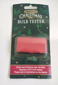 Christmas Light Bulb Tester Homebase