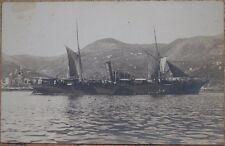 FOTOGRAFIA NAVI MILITARI 1939 MILITARY SHIP MARE SEA NAPOLI NAPLES GUERRA