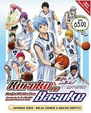 DVD Kuroko's Basketball Season 1+2+3 + Movie Winter Cup Kuroko Last Game Boxset