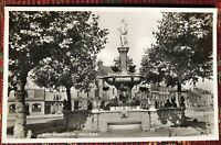 THE FOUNTAIN DEVIZES WILTSHIRE VINTAGE POSTCARD REAL PHOTO UNPOSTED RP