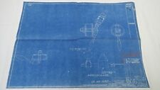 AntiqueBlueprint Industrial Art Detroit Automotive Ford Motor 1941 #6