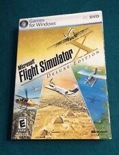Microsoft Flight Simulator X: Deluxe Edition (PC, 2006) Windows Game