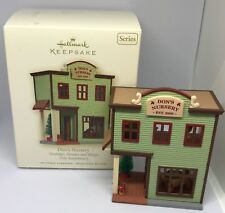 Hallmark Ornament 2008 Don Nursery 18 nostalgic Houses Shops 25th Anniversary Ed