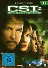 6 DVDs * CSI : LAS VEGAS - STAFFEL / SEASON 6 # NEU OVP §