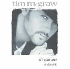 It's Your Love / She Never Let's It Go to Heart Mcgraw, Tim MUSIC CD
