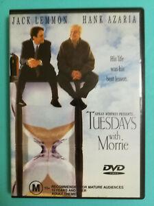 Tuesdays with Morrie DVD Hank Azaria Jack Lemmon Drama Rated MA15+ VGC Drama