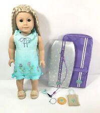"American Girl Doll Kailey, Retired 2003! 18"" Doll with Accessories & Surf Board!"