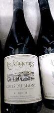 2:bouteilles 13%COTESduRHONE LES MAGERANS 2002.75cl 13%