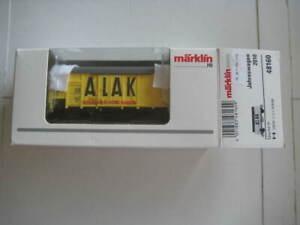 "Marklin H0 48160 ""ALAK"" Spangenberg-Werke Hamburg Annual Insider Car for 2010"
