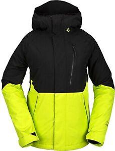 2021 NWT WOMENS VOLCOM ARIS GORE-TEX JACKET $270 S Lime standard fit