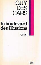 GUY DES CARS LE BOULEVARD DES ILLUSIONS + PARIS POSTER GUIDE