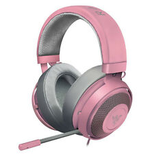 Razer Kraken Pro V2 Analog Gaming Headset for PC/Xbox One/PS4/Switch Quartz Pink