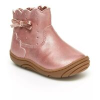Stride Rite 360 Yuri Toddler Girls' Pink Ankle Boots ~ Size 3T