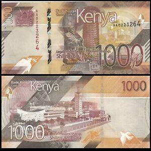 Kenya 1000 Shillings 2019 P-New - UNC